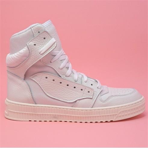 Sneakers Donna stringate bianco VV21122